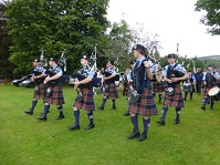 Alyth pipe band